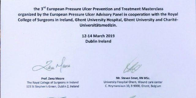 Pressure Ulcer Masterclass in Dublin